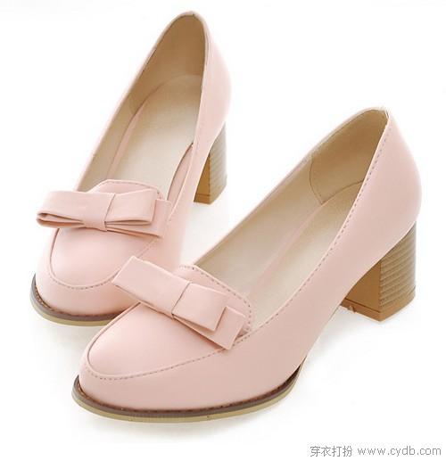 中跟皮鞋,走出最佳舒适度