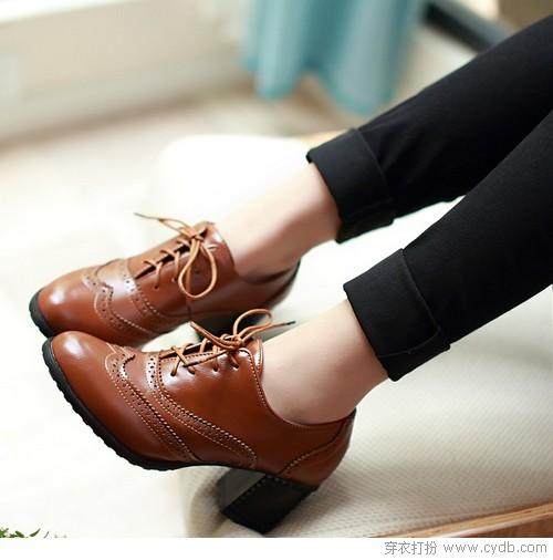 牛津鞋的魅力谁穿谁知道