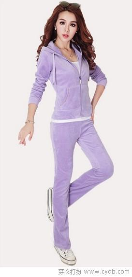 安踏天鹅绒运动套装_秋季运动时尚 生活更精彩 - 穿衣打扮 - 服饰搭配,美容知识