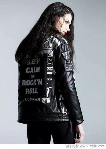 都市Rocker的皮衣狂欢