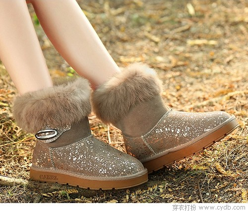 雪地靴 温暖从脚开始
