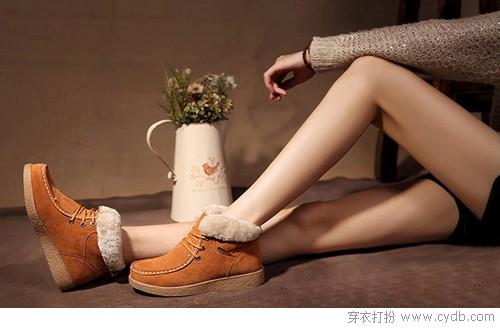 休闲鞋的帅气冬日