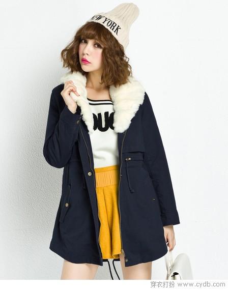 外套+毛衣 深冬最实穿