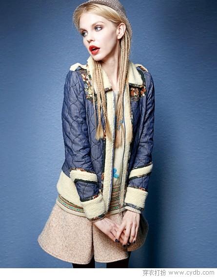 属性棉衣,温暖时尚两不误