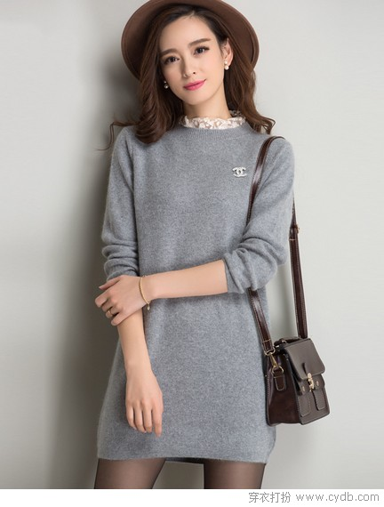 毛衣裙的温暖与温柔
