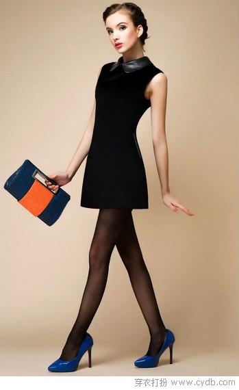 黑色裙装演绎经典精彩无限