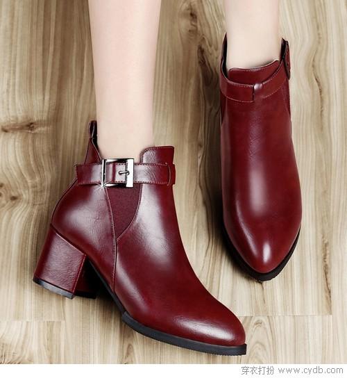粗鞋带系法步骤图解
