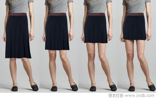 怎么挑选适合自己的裙长