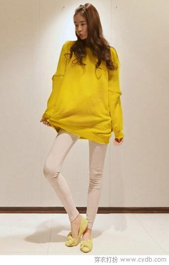 黄色单品 让心情亮起来