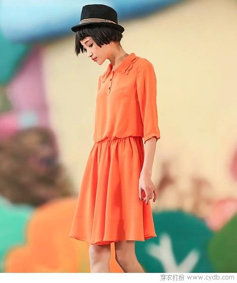 裙衫合一,素馨清丽
