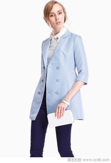 春装外套特色造型刷人气