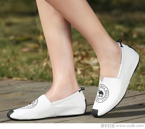 真皮单鞋越简单越不凡