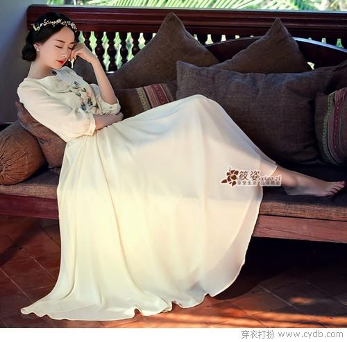 最爱长裙美如画