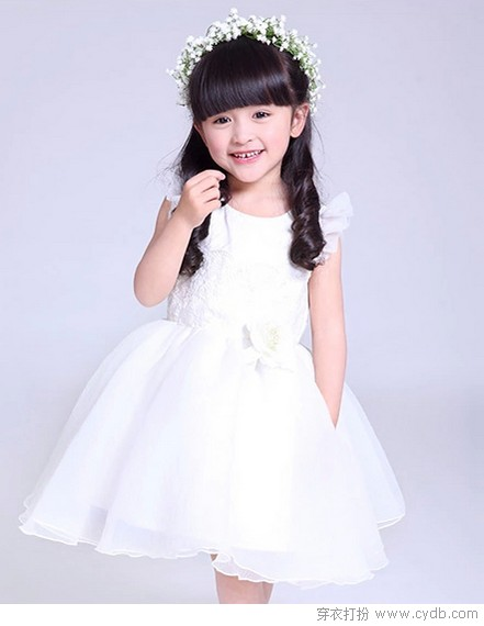 超级可爱公主编织裙