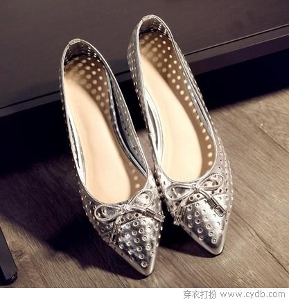 尖头鞋的时尚度