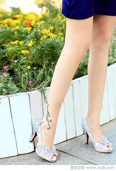 高跟鞋是足下生的花