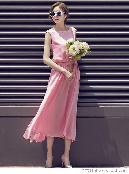 ★长裙:时光长廊里的优雅舞者