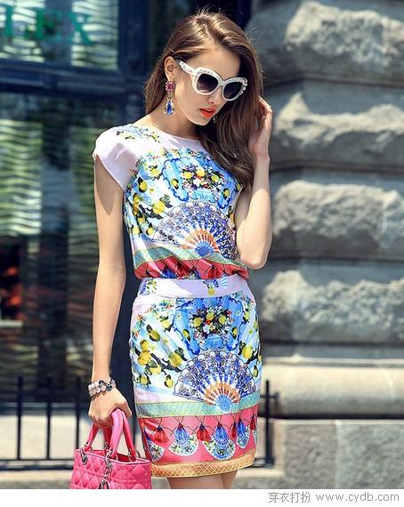 每条连衣裙都是一道风景