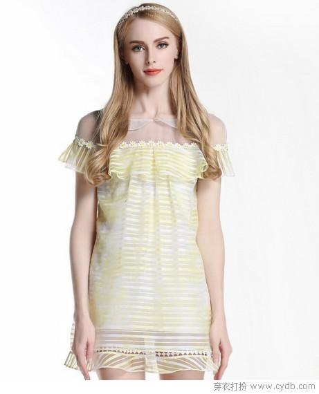 淡彩色系甜美裙装