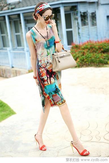 裙带飘飘,清凉夏
