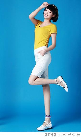 白裤子 自带高颜值