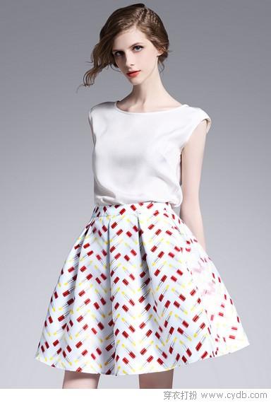 半身裙的夏天