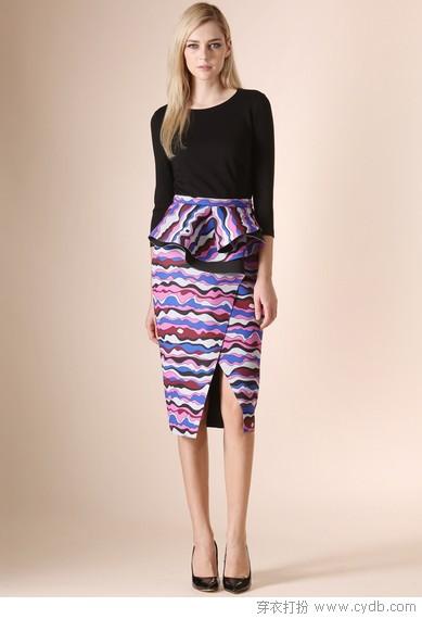 选对裙子穿出曲线美