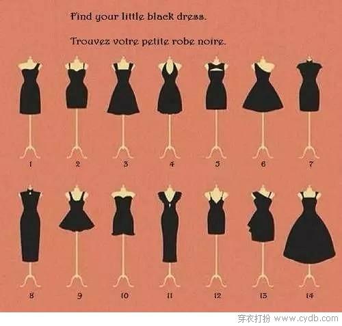 必备小黑裙 一起温故而知新吧