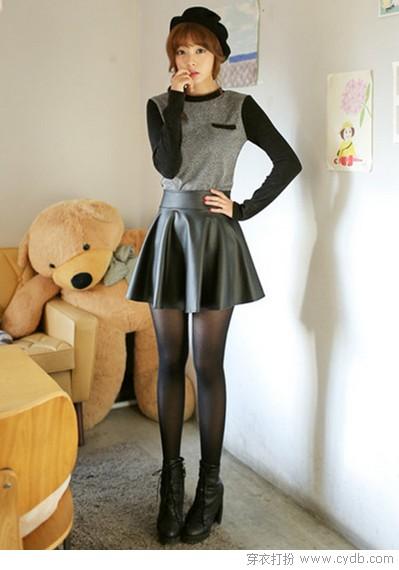 秋季皮裙来走心(上)