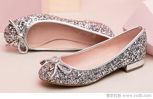 靓丽单鞋亮丽风景