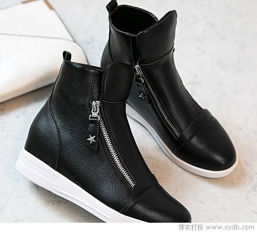 高帮鞋的诱惑