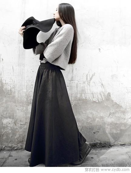 裙裾飞扬的秋季