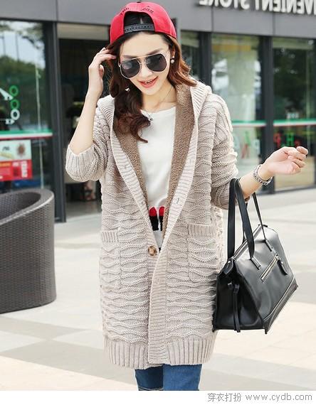 毛衣外套照见的暖秋