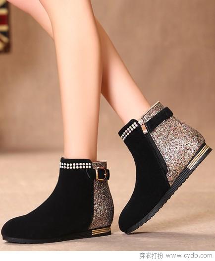 女神都从鞋入手
