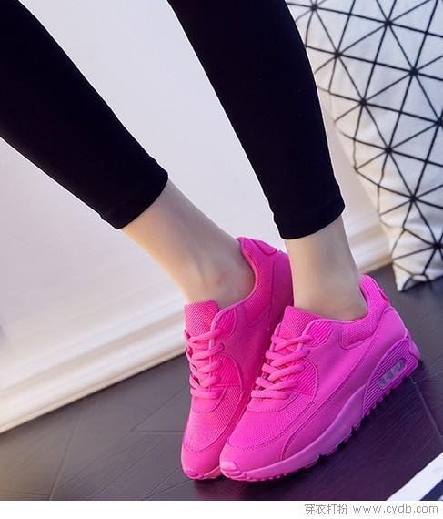 时尚与青春两不误,运动鞋走起
