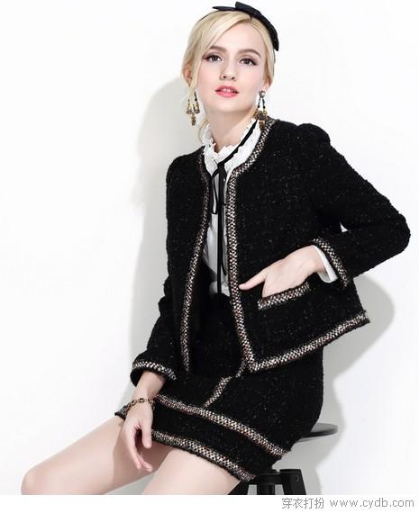 毛呢外套,简单就美