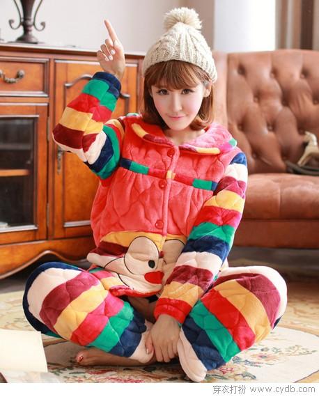 家居服:暖暖的,很贴心!
