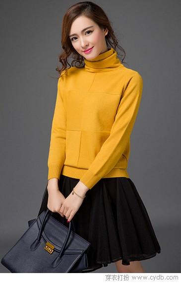 只需这三款毛衣就能美美过冬(二)