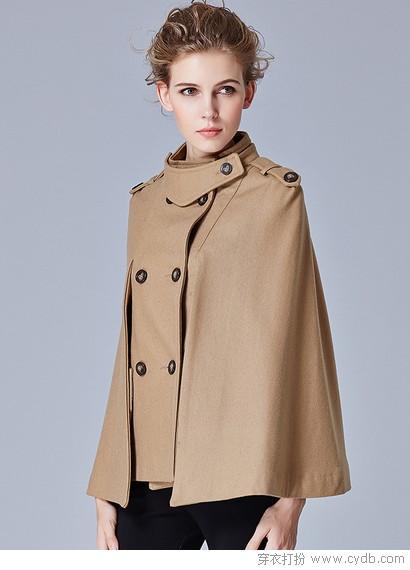 外套短一点更轻盈秀婉