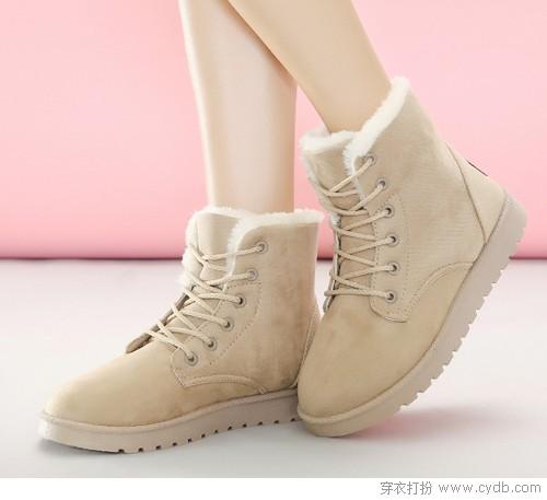 冬天去寻找雪地靴