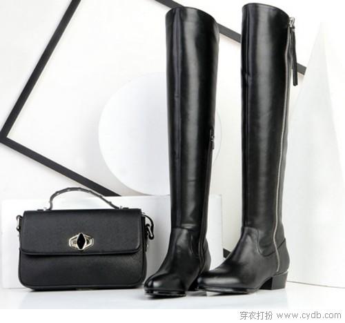 长筒靴穿出170cm即视感