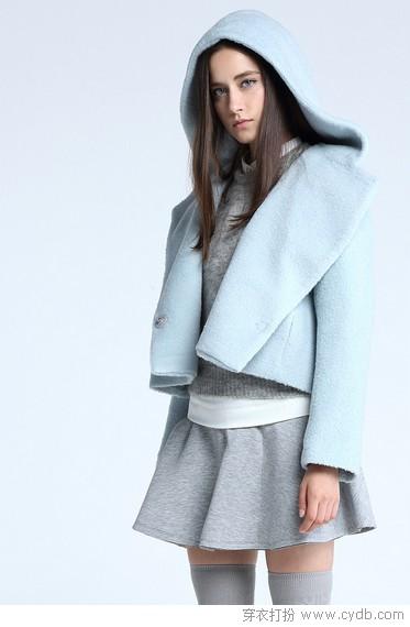 短大衣,更俏丽