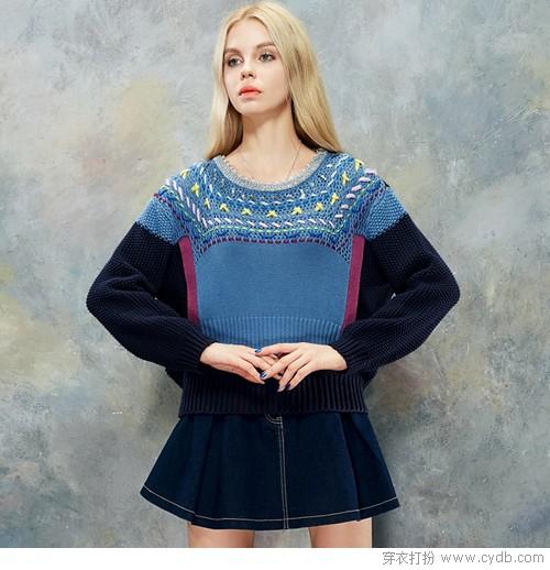 挑选毛衣要看气质哦!
