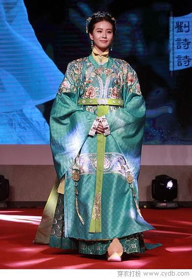 刘诗诗古装造型再次美出新高度