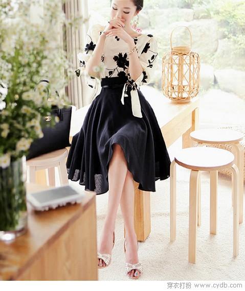 连衣裙说:想去吹吹春天里的风