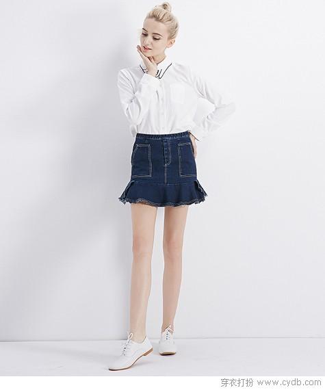 穿对半身裙的时髦与复古,让你美得人人羡慕