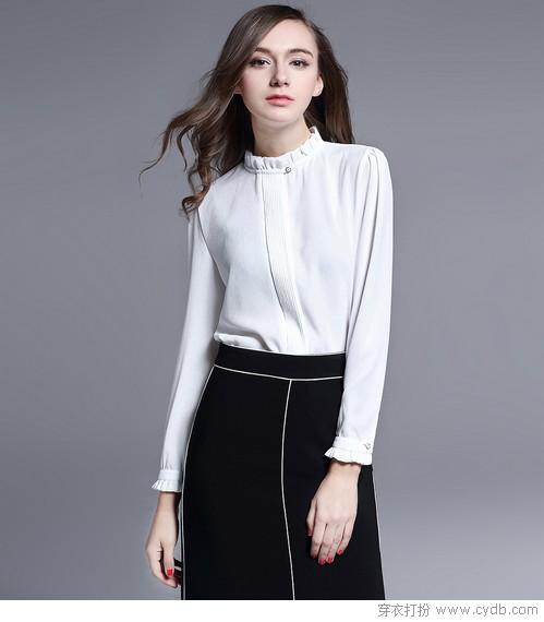 白色单品这样穿,紧跟时尚不落伍