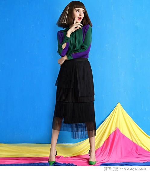 褶皱为美裙塑形,风琴褶里觅清音