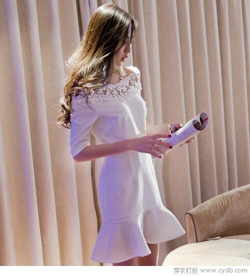 選這條裙 火速搶足回頭率