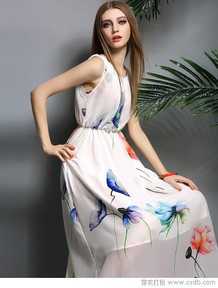 夏天喊你<a style='top:0px;' href=/article/tag/k/%25E5%259B%259E%25E5%258E%25BB.html target=_blank ><strong style='color:red;top:0px;'>回去</strong></a>穿印花裙啦